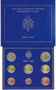 Vatican City - Coinset 2007
