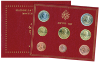 Vatican - Collection annuelle monnaies 2008 - Coll. ann.