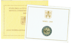 Vatikanet - 2 Euromønt 2009 - Ikke specificeret