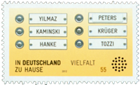 Germany - Integration - Mint stamp