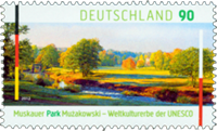Germany Muskauer Park - Mint stamp