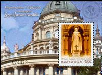 Ungarn - István katedralen - Postfrisk miniark
