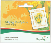Hungary - Flowers Europe - Mint booklet