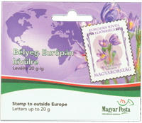 Hungary - Flowers Overseas - Mint booklet
