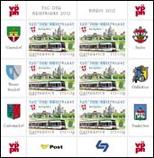 Austria - Stamp Day 2012 - Mint sheetlet