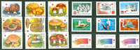 Selection of Finnish stamps