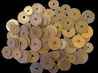 Danmark - Kobbermønter - 500 gram