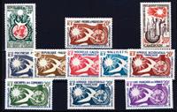 Franske kolonier - Menneskerettigheder - 1958 - Postfrisk