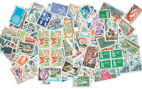 France 165 mint stamps