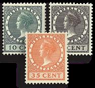 Nederland - Tentoonstellingszegels 1924 (nr. 136-138, postfris)