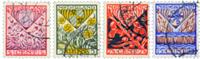 Netherlands 1927 - NVPH 208-211 - Cancelled