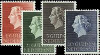 Netherlands 1954-1957 - NVPH 637-640 - Mint