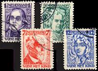 Nederland 1928 - Nr. 220-223 - Gebruikt