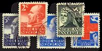 Netherlands 1927 - NVPH 203-207 - Cancelled