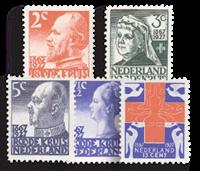 Netherlands 1927 - NVPH 203-207 - Unused