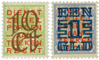 Netherlands 1923 - NVPH 132-133 - Unused