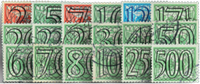 Netherlands 1940 - NVPH 356-373 - Cancelled
