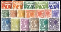 Netherlands 1925 - NVPH R1-R18 - Unused