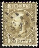 Nederland - Koning Willem III 1867-1868 (nr. 12, gebruikt)