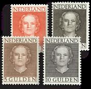 Netherlands 1949 - NVPH 534-537 - Unused