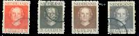 Netherlands - NVPH 534-537 - Cancelled