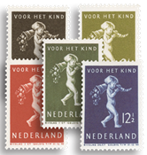 Netherlands 1939 - NVPH 327-331 - Unused