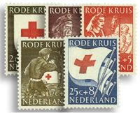 Netherlands 1953 - NVPH 607-611 - Mint