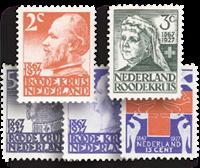 Netherlands 1927 - NVPH 203-207 - Mint