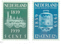 Netherlands 1939 - NVPH 325-326 - Unused