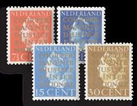 Nederland - Cour de Justice 1940 (nr. D16-19, postfris)