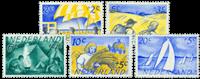 Nederland 1949 - Nr. 513-517 - Postfris
