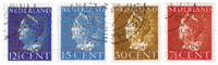 Netherlands 1940 - NVPH D16-D19 - Cancelled