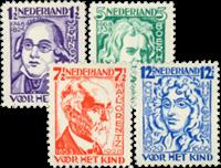 Netherlands 1928 - NVPH 220-223 - Unused
