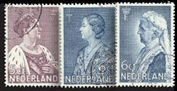 Holland 1934 - NVPH 265-266+269 Stemplet
