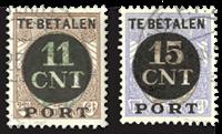 Netherlands 1924 - NVPH PV1-PV2 - Cancelled