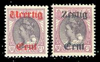 Netherlands 1919 - NVPH 102-103 - Unused