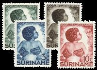 Suriname 1936 - Nr. 179-182 - Postfris
