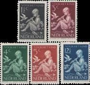 Netherlands 1938 - NVPH 313-317 - Unused