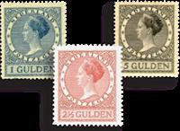 Netherlands 1926-1927 - NVPH 163-165 - Unused