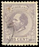 Netherlands 1872-1888 - NVPH 26 - Cancelled