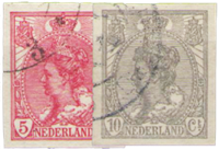 Netherlands 1923 ongetand - NVPH 82-83 - Cancelled