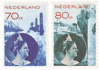 Nederland - Koningin Wilhelmina Fotomontage 1931-33 (nr. 236-237, postfris)
