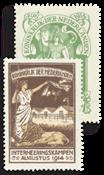 Interneringszegels (IN1-IN2, postfris)