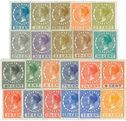 Netherlands  - NVPH 177-198 - Unused