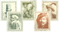 Netherlands 1956 - NVPH 671-675 - Cancelled
