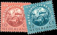 Netherlands 1949 - NVPH 542-543 - Mint