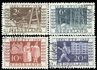 Netherlands 1952 - NVPH 592-595 - Cancelled