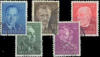 Netherlands 1954 - NVPH 641-645 - Cancelled