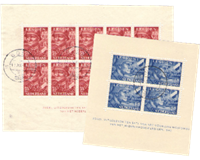 Netherlands 1942 - NVPH 402b-403b - Cancelled