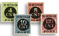 Netherlands 1924 - NVPH P65-P68 - Mint